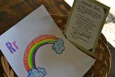 baby shower alphabet book