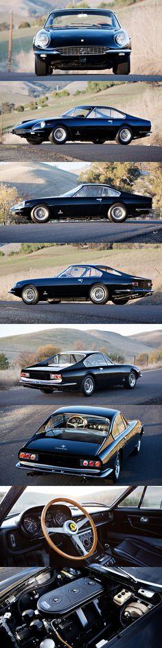 1967 Ferrari 330 GTC Speciale / 1 of 4pcs / $3,41mio / s/n 10107 / Pininfarina / Italy / black