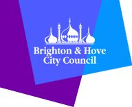 Brighton Hove City Council logo featuring The Royal Pavilion in Brighton Births Deaths And Marriages, Happy City, Breastfeeding Support, New Drivers, Brighton And Hove, City Council, Event Organization, Early Education, Kids Health