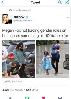 If he's a boy, he's a boy. If she's a girl, she's a girl. I'm Just Sayin.