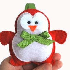 Christmas Penguin Sewing pa..