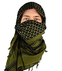 Mato Hash Military Shemagh Tactical 100 Cotton Scarf Head Wrap Olive Drab      Details can be found by clicking on the image. 0baacc950d7
