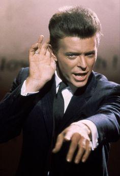 1986 - David Bowie as Vendice Partnes in Absolute Beginners film 80s.