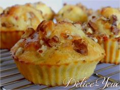 Goat, Bacon & Walnut Muffins … – Délice-Yeux, the gourmet universe of Marine – Famous Last Words