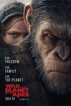 Caesar takes revenge in the new trailer for War for the Planet of the Apes.