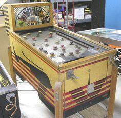 1937 - Bally - Classic Arcade Game Machines, Arcade Machine, Arcade Games, Music Machine, Machine Video, Amazing Music, Good Music, Pinball Wizard, Penny Arcade