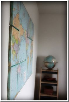 """Great tutorial on how to make large scale """"art"""" on the cheap!  Thanks, www.brownpaper--packages.com!"""