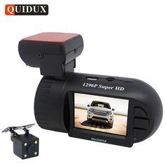 Cheap price US $62.46  QUIDUX Mini Car DVR 1296P Dashcam ADAS WDR Night Vision MSTAR Full HD Video Camera Recorder GPS Tracker Camcorder Logger  #QUIDUX #Mini #Dashcam #ADAS #Night #Vision #MSTAR #Full #Video #Camera #Recorder #Tracker #Camcorder #Logger  #CyberMonday