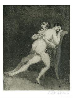 A couple having sex on a chair - Francisco José de Goya as art print or hand painted oil. Francisco Goya, Art Through The Ages, Historical Art, Reproduction, Art Studies, Oeuvre D'art, Erotic Art, Giclee Print, Canvas Art