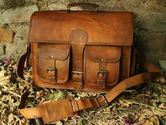 Brown Leather Messenger Bag, Leather Laptop Bag, Leather Briefcase, Leather Bags, Soft Leather, Real Leather, Leather Crossbody, Brown Leather Satchel, Natural Leather