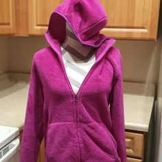 Champion Women'S Purple Zip Up Jacket