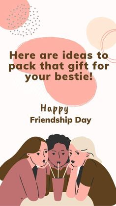 Friendship Day Quotes, Happy Friendship Day, Happy Children's Day, Are You Happy, Best Friend Gifts, Gifts For Friends, Disney Letters, Heart Envelope, Better Life Quotes
