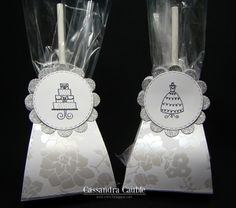 CREATING with COLOR by CASSANDRA     Wedding favors - Lollipop die