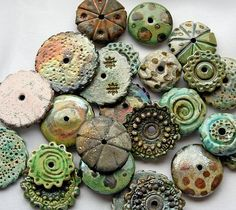 beads-raku by Lisa Peters Art, via Flickr: