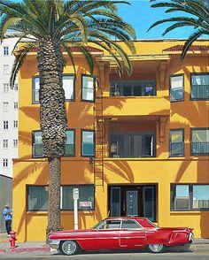 Inspiring California Paintings by Michael Ward – Fubiz Media