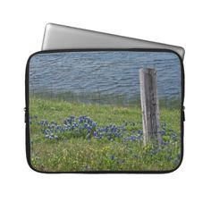 Spring in the Country laptop case Computer Sleeves