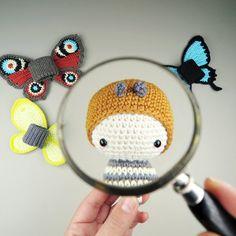 lalylala BRIMSTONE Butterfly - Life Cycle Playset amigurumi by Lalylala