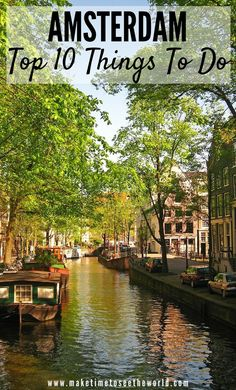48 Hours in Amsterdam: Fun things to do and where to stay. Join me as I run down Amsterdam highlights and the top 10 things to do during your weekend break Voyage Europe, Europe Travel Guide, Backpacking Europe, Europe Destinations, Amsterdam Things To Do In, Visit Amsterdam, Hotel Amsterdam, 2 Days In Amsterdam, Travel To Amsterdam