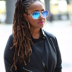 Lalah Hathaway and her gorgeous locs! Thank you for showing how beautiful it is to be on loc-down! Dreadlock Styles, Dreads Styles, Curly Hair Styles, Pelo Natural, Natural Hair Care, Natural Hair Styles, Natural Dreads, Dreadlock Hairstyles, Braided Hairstyles