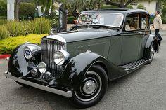 Bentley 4 1-4 Litre Vanvooren Pillarless Saloon 1936 2