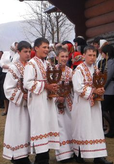 Altar boys, Kosmach, W Ukraine, from Iryna with love