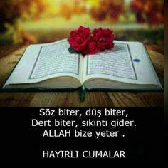 Resimli cuma mesajları Hafiz, Allah Islam, Prayers, Quotes, Islamic, Twitter, Flowers, Friday, Quotations