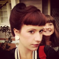 50s Rockabilly Hairstyles | victory curl on Tumblr