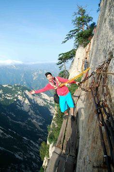 (11月20日)中国华山超级让人缩卵的景点【2ch】
