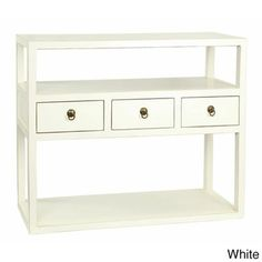 Mikayla Display Shelf - Overstock™ Shopping - Great Deals on Antique Revival Coffee, Sofa & End Tables   30hx36wx12d
