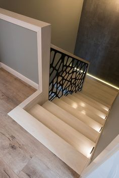Schody dywanowe na beton Interior Design Your Home, Interior Design Living Room, House Stairs, Carpet Stairs, Style At Home, Escalier Design, Beton Design, Staircase Design, My Dream Home