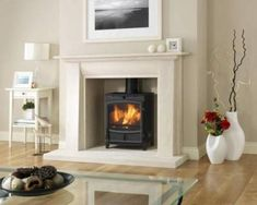 The Hereford range by Broseley is the most elegant way to warm a modern home. Whether standing in its own right, or within an inglenook, thi… – Log burner ideas – fireplace Log Burner Fireplace, Inglenook Fireplace, Faux Fireplace, Wood Burner, Living Room With Fireplace, Fireplace Ideas, Fireplaces, Living Rooms, Wood Burning Logs