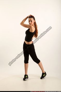 PATRICIA DANCE VARIOUS PHOTO OF WOMAN YOUNG ATHLETIC WHITE MOVING POSES SPORTSWEAR DANCE