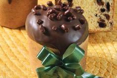 Mini panetone de chocolate