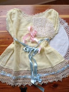 Vintage Baby Clothes | Vintage tatted baby clothes.