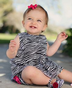 Zebra Swing Top from Ruffle Butts Baby Girl Dresses, Baby Boy Outfits, Baby Girls, Small Baby Dolls, 1st Birthday Hats, Very Cute Baby, Cool Baby Clothes, Stylish Clothes, Cute Baby Gifts