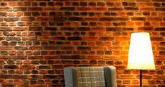 pared de ladrillo rustico con panel decorativo fibra de vidrio oldstones