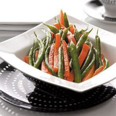 Dilled Carrots & Green Beans Recipe