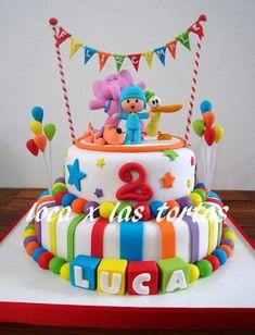Znalezione obrazy dla zapytania cake pocoyo and nina Boys First Birthday Cake, 2nd Birthday Party Themes, Third Birthday, Baby Birthday, First Birthday Parties, 1st Birthdays, Decoration, Oakley, Toddler Boy Birthday
