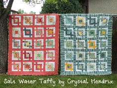 Salt Water Taffy Boy and Girl Quilts Jelly Roll quilt pattern for free. :-)