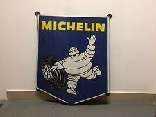 Ancienne plaque MICHELIN BIBENDUM lof,vintage,garage, émaillée 1969