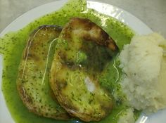 Pie, Mash & Jellied Eels: what are they & why? Explained in an article here. (This was recently syndicated by RyanSeacrest.com - what a weird world we live in...)  Photo: Pie and Mash by colinmeeks, via Flickr.