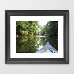 Kayaking down river by Sarah Shanely Photography $31.00