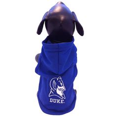 NCAA Duke Blue Devils Collegiate Cotton Lycra Hooded Dog Shirt ** For more information, visit image link. (This is an affiliate link and I receive a commission for the sales)