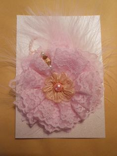 Shabby Chic Flower by jennings644 on Etsy