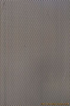 Perforated metal mesh texture: