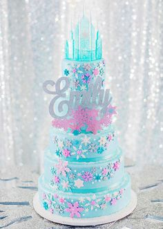 Princess Castle Cake Topper Kit Cakes for Birthdays Pinterest