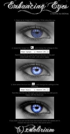 Enhancing Eyes in Photoshop Tutorial