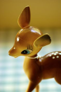 Vintage Bambi--I had one of him!