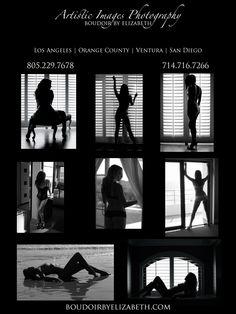 Black & White Boudoir Photography Poses | Boudoir posing ideas Boudoir by Elizabeth Los Angeles Area