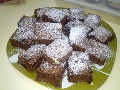 Brownies de Chocolate con azúcar glass